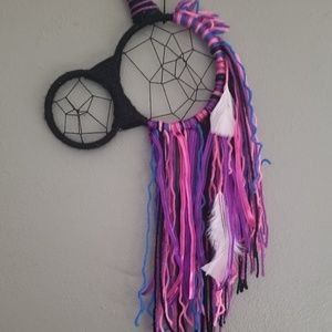 Unicorn dream catcher black